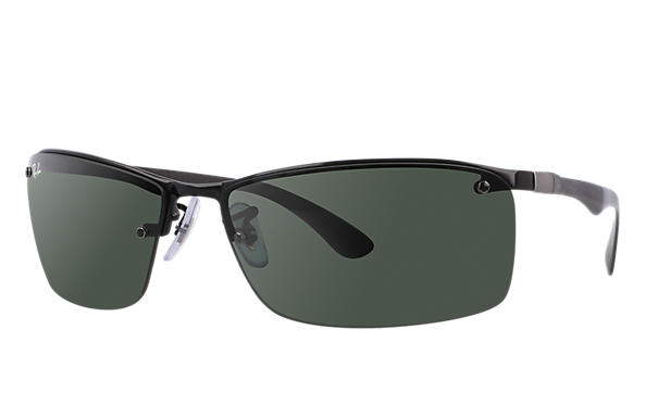 29a94a8890 Ray-Ban RB8315 Black - Carbon Fibre - Green Lenses - 0RB8315002 7163 ...