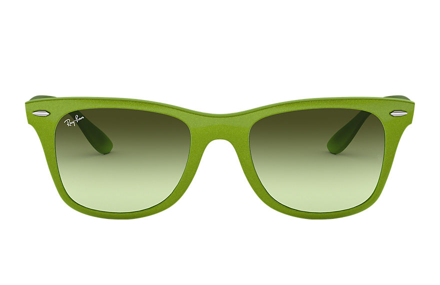 Ray-Ban  sunglasses RB4195 UNISEX 001 wayfarer liteforce groen 8053672195590