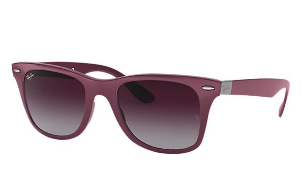 Ray-Ban 0RB4195-WAYFARER LITEFORCE Violett SUN