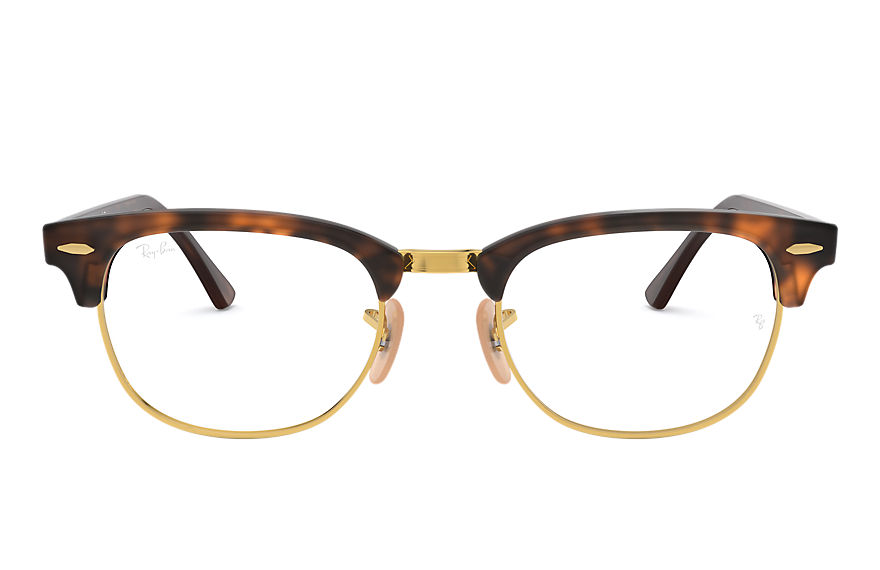 Ray-Ban  eyeglasses RX5154 UNISEX 010 clubmaster optics 호피색 8053672195712