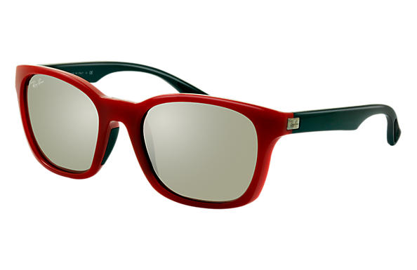 Ray-Ban 0RB4197-RB4197 Red; Black SUN