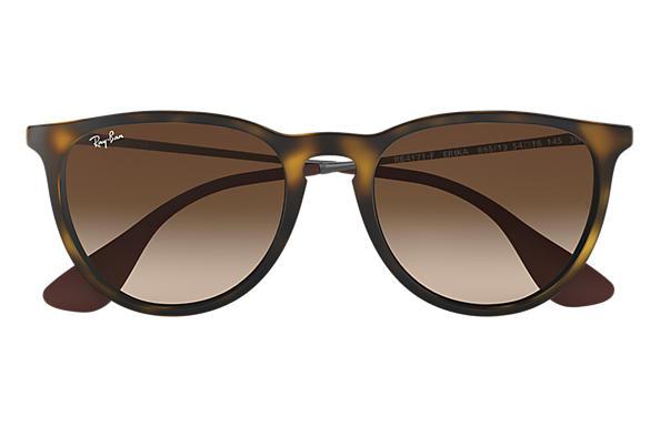 Ray-Ban 0RB4171F-ERIKA CLASSIC 玳瑁啡色; 金屬色 SUN