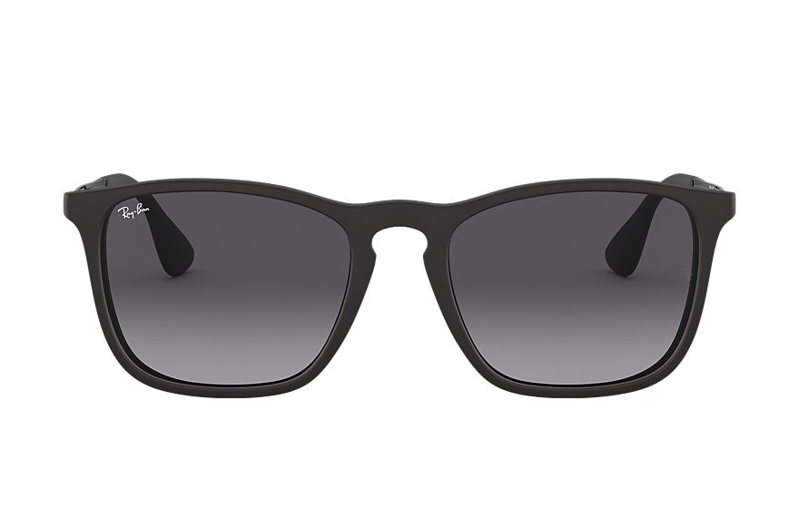 Ray-Ban  sunglasses RB4187F UNISEX 001 chris 黑色 8053672213454