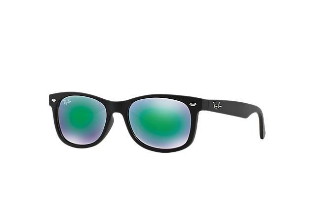 Ray Ban NEW WAYFARER JUNIOR RB9052S Black Injected Blue Lenses 0RJ9052S100X047   Ray Ban® Denmark