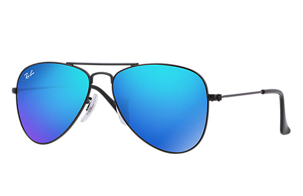 Ray-Ban 0RJ9506S-AVIATOR JUNIOR 黑色 SUN
