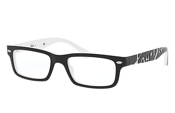 Ray-Ban 0RY1535-RB1535 Black,White OPTICAL