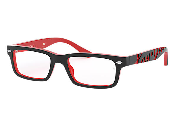 145afec4711 Ray-Ban prescription glasses RY1535 Black - Acetate - 0RY1535357348 ...