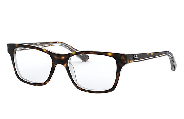 Ray-Ban 0RY1536-RB1536 Tortoise,Transparent OPTICAL