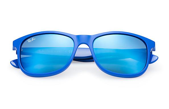 ray ban andy blau verspiegelt