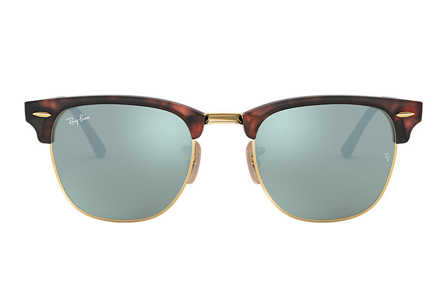 Ray-Ban  occhiali da sole RB3016 UNISEX 028 clubmaster flash lenses tartaruga 8053672227017