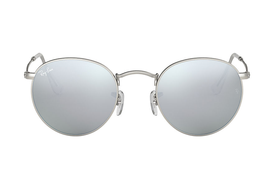 Ray-Ban  sunglasses RB3447 UNISEX 003 round flash lenses silver 8053672227062