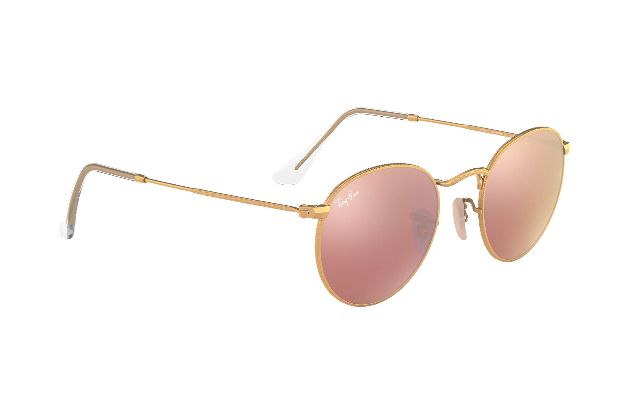 ray ban 3447 pink gold