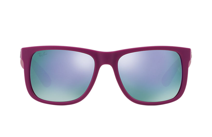 Ray-Ban  sonnenbrillen RB4165 UNISEX 004 justin color mix violett 8053672228717