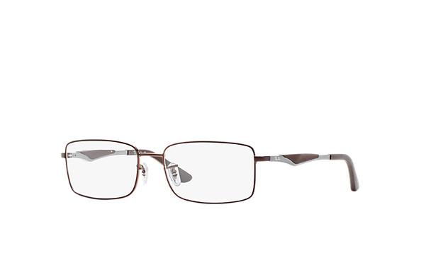 6376d96ca6f4d Óculos de grau Ray-Ban RB6284 Marrom - Metal - 0RX6284275853