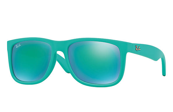 Ray-Ban 0RB4165F-JUSTIN CLASSIC 綠色 SUN