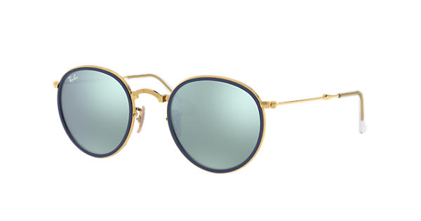 7e730cd464d8f Ray-Ban Round Plegable RB3517 Oro - Metal - Lentes Plata - 0RB3517001 3051    Ray-Ban® Méjico
