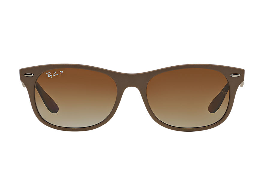 Ray-Ban  sunglasses RB4207 UNISEX 004 new wayfarer liteforce brown 8053672234053