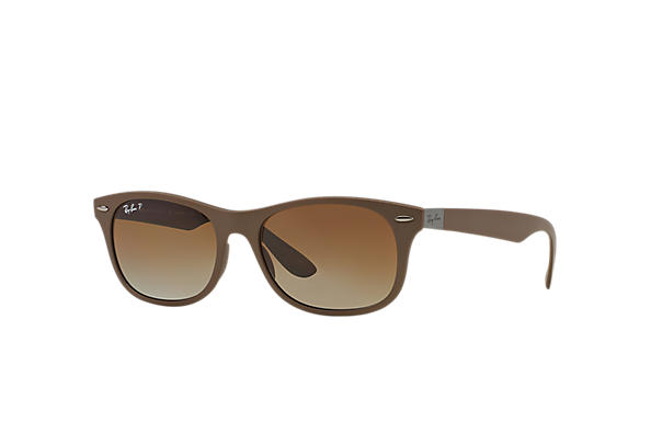 Ray-Ban Sunglasses NEW WAYFARER LITEFORCE Brown with Brown Gradient lens