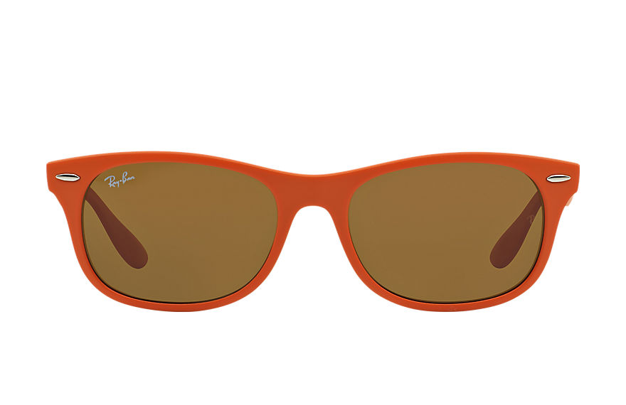Ray-Ban  sunglasses RB4207 UNISEX 006 新徒步旅行者·超轻固 橘色 8053672234077