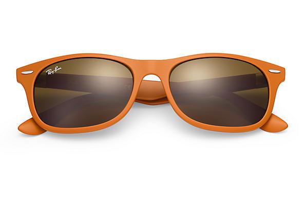 7cd1cba4fa0 Ray-Ban New Wayfarer Liteforce RB4207 Orange - Liteforce - Brown ...