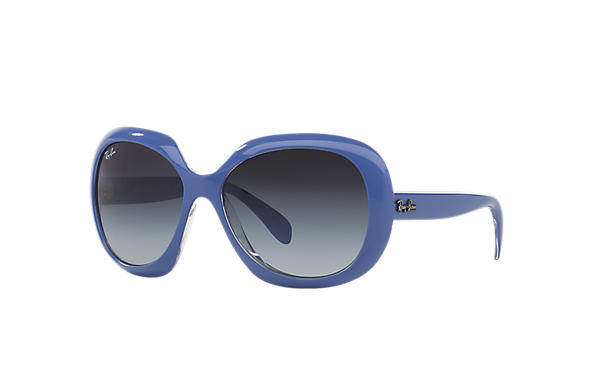 Ray-Ban 0RB4208-RB4208 Blue,Transparent SUN