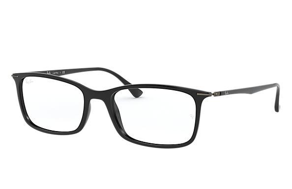 fc4250e74e7 Ray-Ban prescription glasses RB7031 Black - LightRay Titanium ...