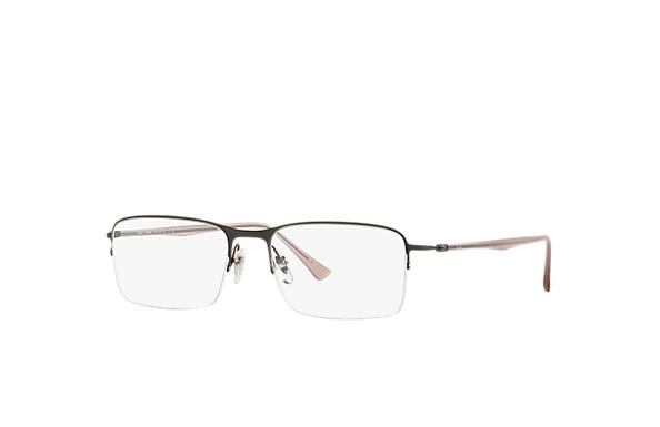 Ray-Ban 0RX8721-RB8721 Chumbo; Rosa OPTICAL