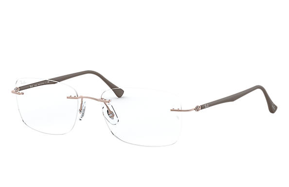 Ray-Ban 0RX8725-RB8725 Brons-Koper; Bruin OPTICAL