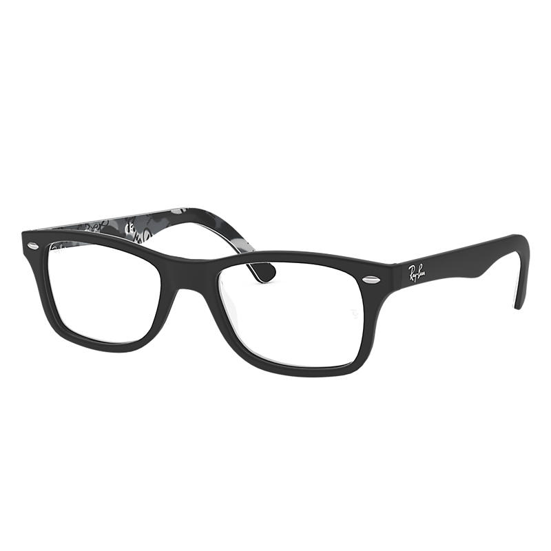 Image of Ray-Ban Black Eyeglasses - Rb5228