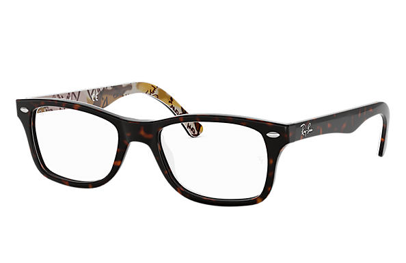 Ray-Ban 0RX5228-RB5228 Havane,Multicolor OPTICAL