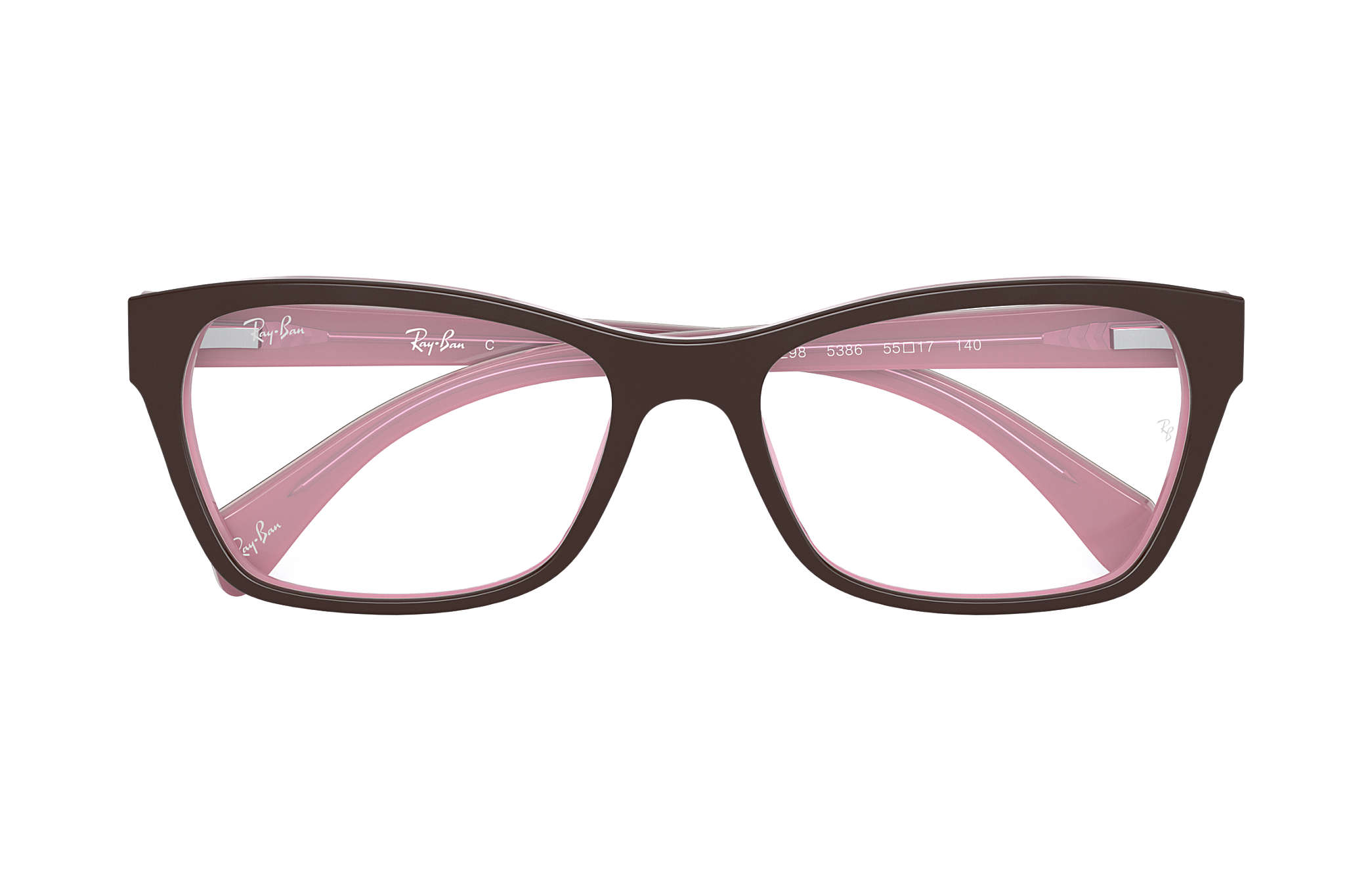 e015576a1d35 Ray-Ban prescription glasses RB5298 Brown - Acetate - 0RX5298538653 ...