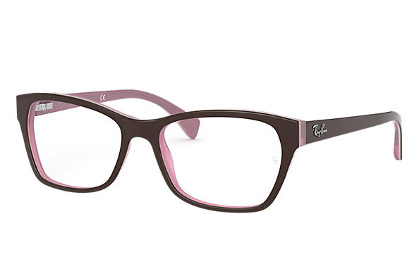 10c004b090 Ray-Ban prescription glasses RB5298 Brown - Acetate - 0RX5298538653 ...