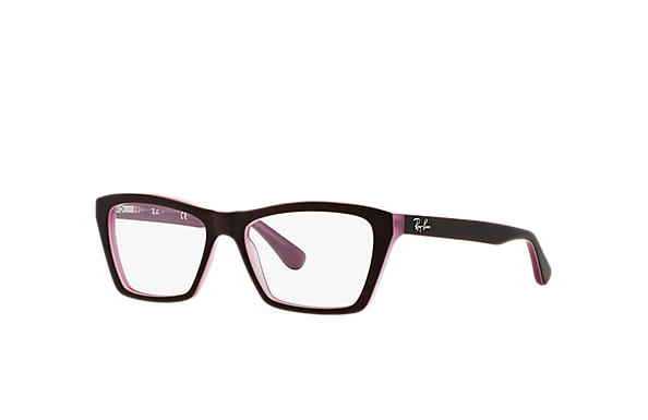 Ray-Ban 0RX5316-RB5316 Marron,Rose OPTICAL
