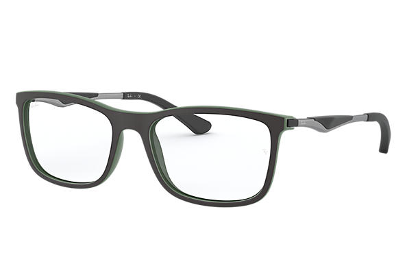 Ray-Ban 0RX7029-RB7029 Black,Green; Gunmetal OPTICAL
