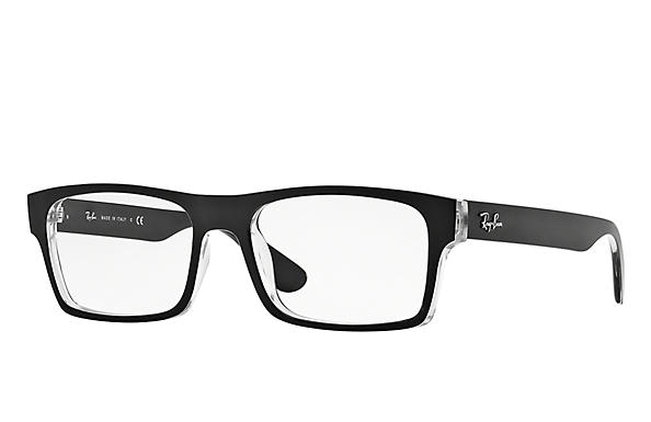 Ray-Ban 0RX7030-RB7030 Black,Transparent OPTICAL