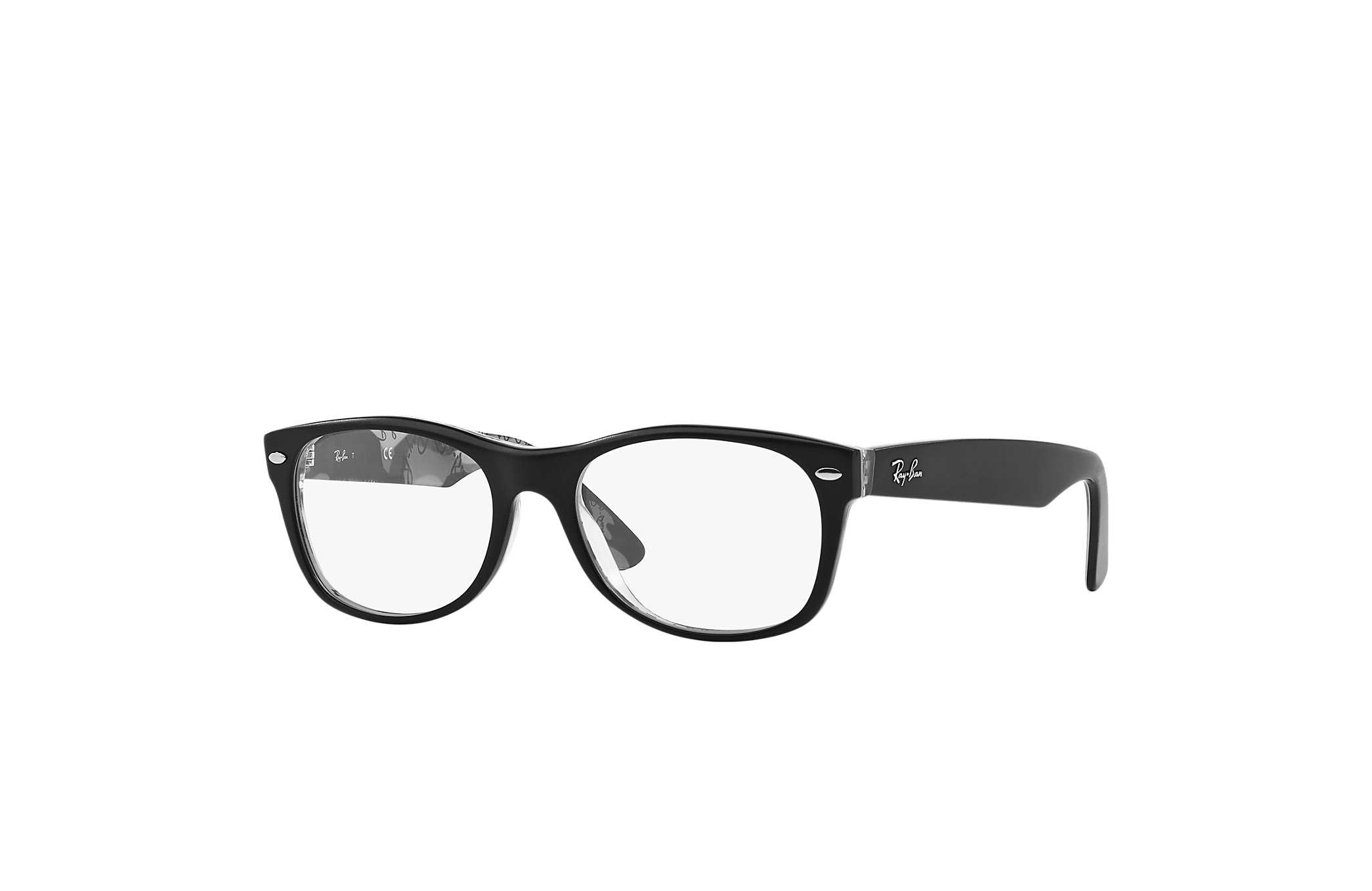 f44a7c68a6184 Óculos de grau Ray-Ban New Wayfarer Optics RB5184 Preto - Acetato ...