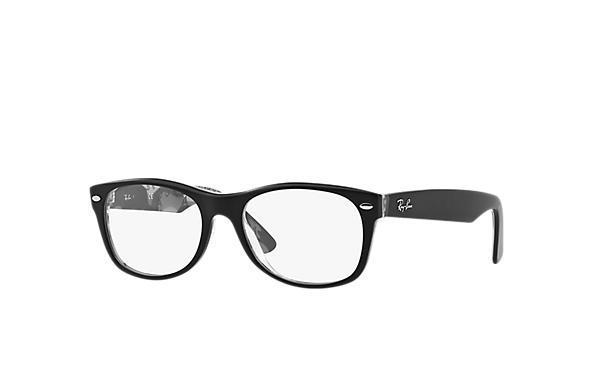 b5933a56935a Ray-Ban prescription glasses New Wayfarer Optics RB5184 Black ...