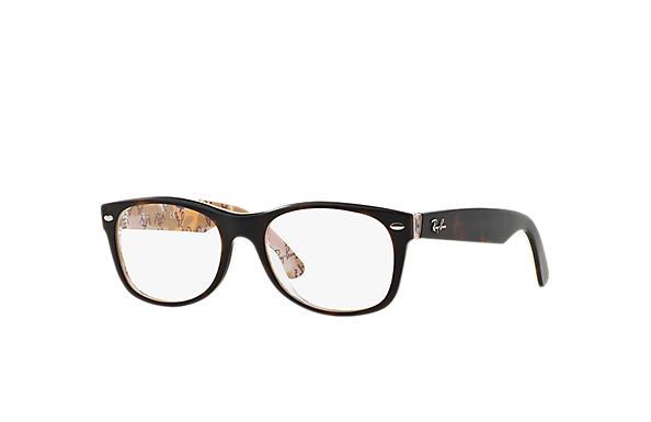 39bf99af0ba91f Ray-Ban prescription glasses New Wayfarer Optics RB5184 Black ...