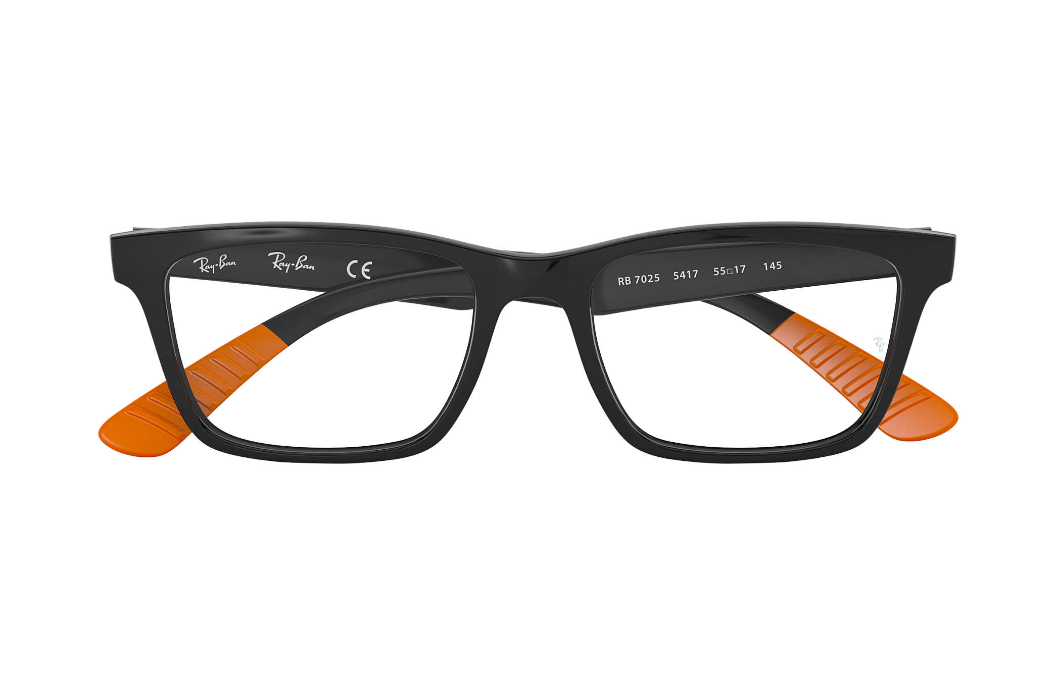 a0cdd129a0 Ray-Ban prescription glasses RB7025 Black - Nylon - 0RX7025541753 ...