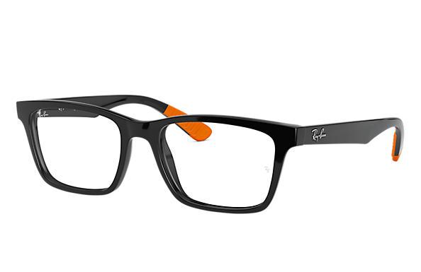 6aca14ba8990e Ray-Ban prescription glasses RB7025 Black - Nylon - 0RX7025541755 ...