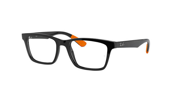 b996a5d860 Ray-Ban prescription glasses RB7025 Black - Nylon - 0RX7025541755 ...