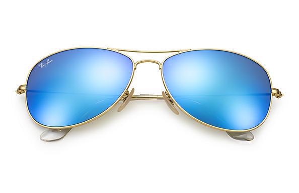 ray ban aviator bleu flash
