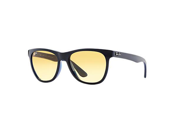 8d661a82bd0 Ray-Ban RB4184 Blue - Nylon - Yellow Lenses - 0RB41846115X454