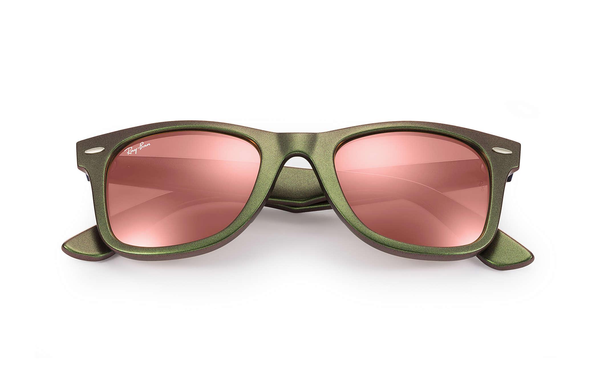 b091efcae5016 Ray-Ban Original Wayfarer Cosmo RB2140 Pink - Acetate - Copper ...