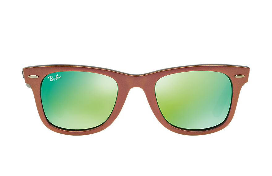 Ray-Ban  sunglasses RB2140 UNISEX 116 original wayfarer cosmo green 8053672255911