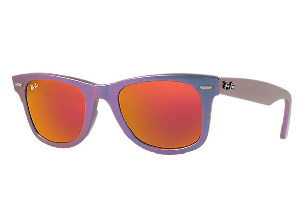 Ray-Ban 0RB2140-ORIGINAL WAYFARER COSMO Purple,Blue SUN
