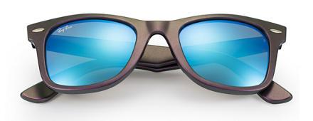 af2cfa0a3e Ray-Ban ORIGINAL WAYFARER COSMO Verde com Azul Brilhante lentes