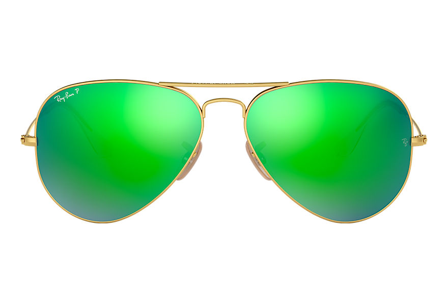 Ray-Ban  sonnenbrillen RB3025 UNISEX 058 aviator flash lenses gold 8053672256130