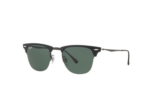 Ray-Ban CLUBMASTER LIGHT RAY Black with Green Classic lens