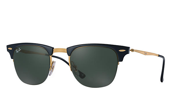 Ray-Ban 0RB8056-CLUBMASTER LIGHT RAY Black; Gold SUN